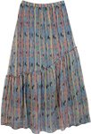 Womens Chiffon Long Skirt