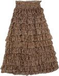 Chiffon Women`s Fashion Skirt [4071]