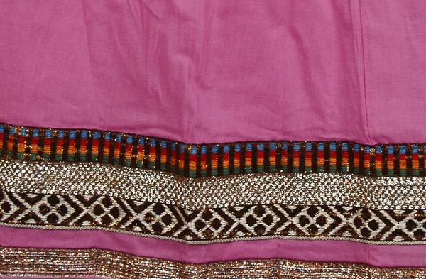 Charmed Dressy Cotton Skirt