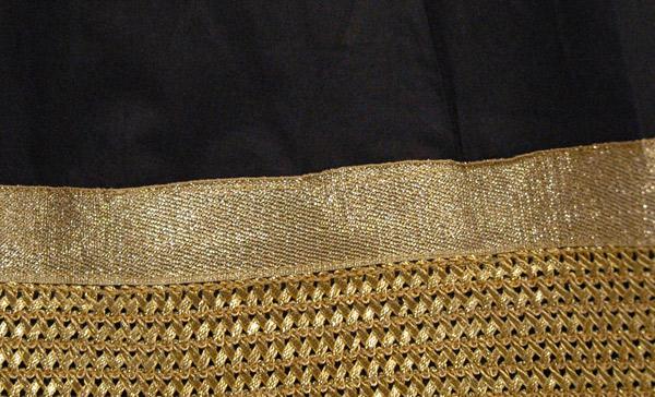 The Deborah Border Trim Skirt