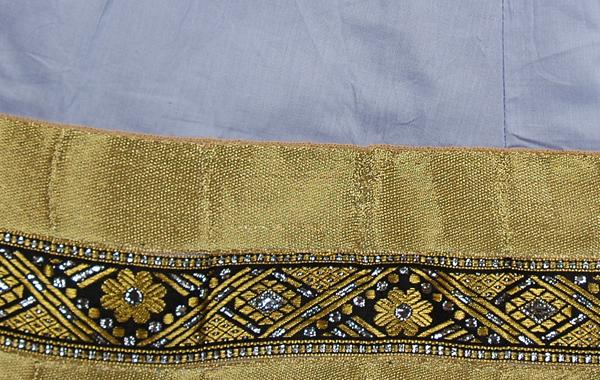 Cadet Blue Lustrous Skirt