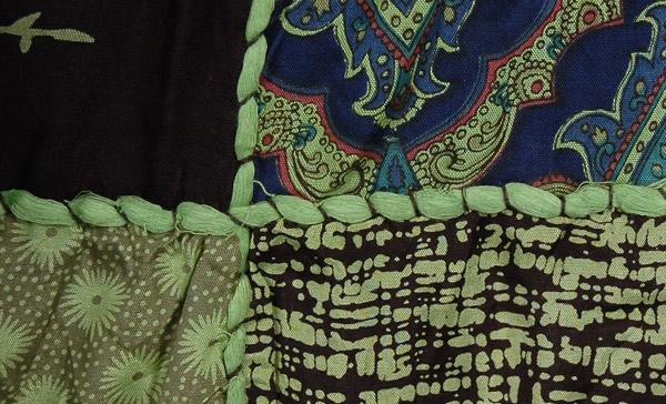 Patchwork Boho Urban Skirt