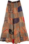 Paarl Panel Boho Patchwork Skirt