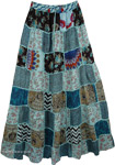 Embroidered Patches Tribal Skirt