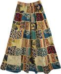 Gypsy Patchwork Boho Skirt