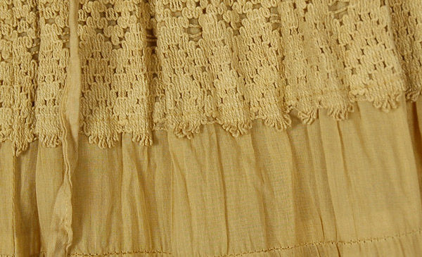 Gaucho Split Skirt in Twine
