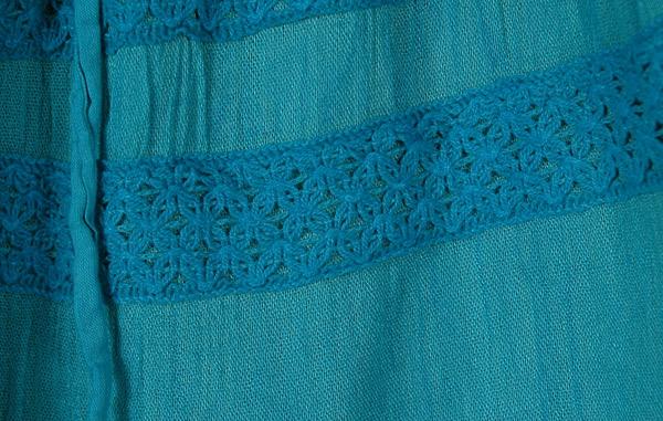 Eastern Blue Split Skirt Riding Pants