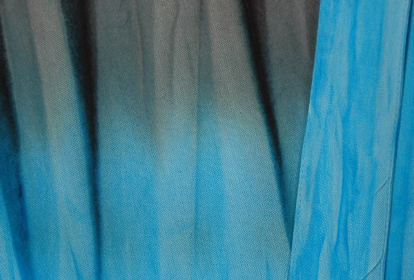 Serendipity Haze Blue Grey Wrap Skirt