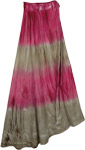 Allure Blush Romantic Wrap Skirt