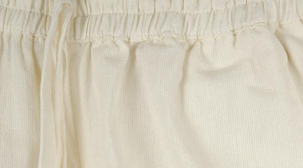 White Cotton Ladies Harem Pants