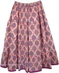 Rose Bud Full Plus Size Skirt [4200]
