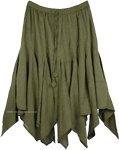 Hemlock Bohemian Hanky Hem Skirt