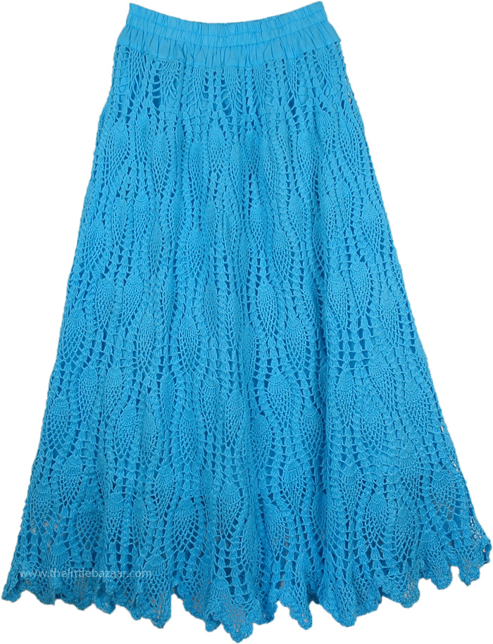 classic fit unparalleled compare price Picton Blue Long Skirt All Crochet Pattern