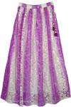 Violet Summer Long Skirt [4264]