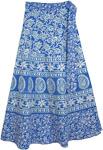 St.Tropez Womens Floral Wrap Skirt