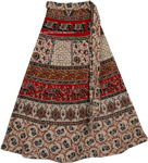 Aymara Long Wrap Around Skirt
