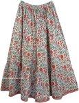 Spring Garden Pull-On Skirt  [4372]