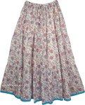 Contessa Orchid Womens Long Skirt