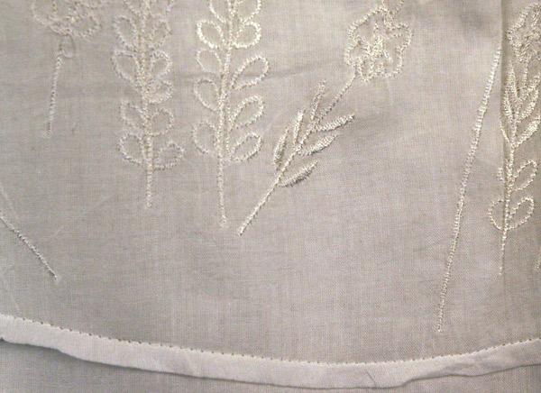 Arielle White Long Summer Skirt