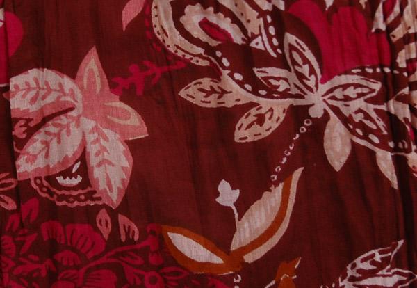 Reversible Cotton Floral Summer Skirt