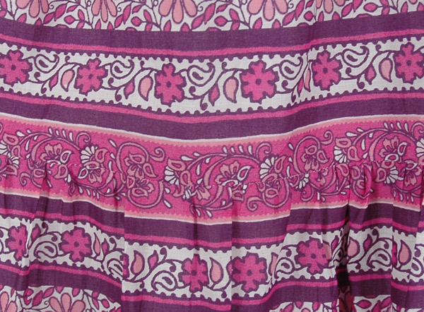 Charm Orchid Womens Pink Long Skirt