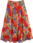 Jamaica in your Heart Summer Skirt  [4490]