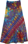 Across The Galaxy Tie Dye Skirt