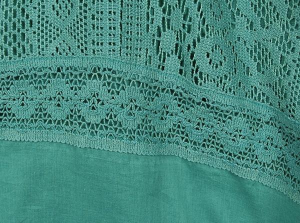 Tradewinds Lace Cotton Long Skirt