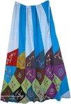 Boho Summer Concert Outdoor Skirt  [4683]