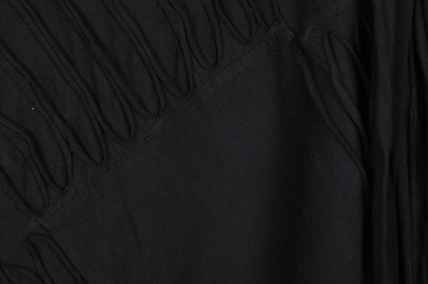 Midnight Magic Razor Cut Wrapper Skirt
