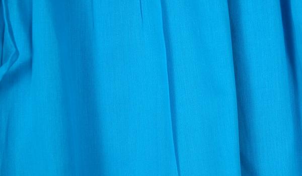 Culottes Split Pant Skirt in Dodger Blue