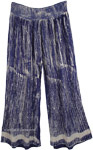Breezy Days Wide-legged Pants in Cobalt Blue [4749]