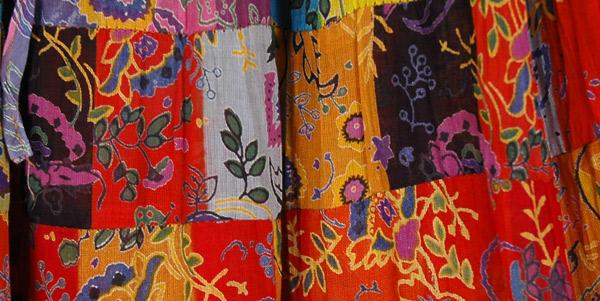 Spiced Cider Multi Color Floral Maxi Skirt