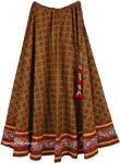 Ginger Spice Indian Dancing Skirt