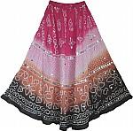 Boho Sequin Dancing Long Skirt