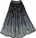 Gypsy Printed Long Skirt