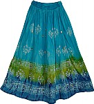 Womens Garden Long Skirt
