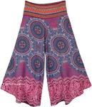 Summer Beach Boho Festival Clothing Wide Leg Pants