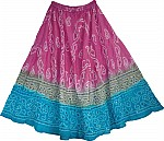 Tie Dye Skirt w/ Sequin Skirt