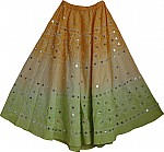 Ethnic Skirt Sequin Skirt