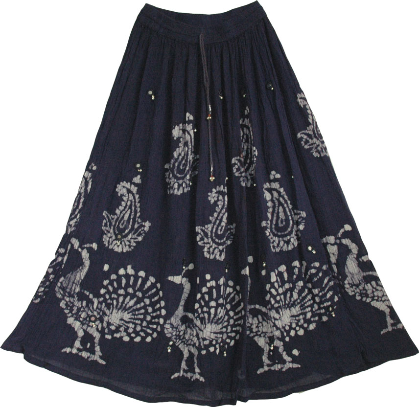 Indian Long Skirt with Mirrors