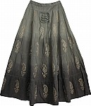 Cod Gray Long Skirt