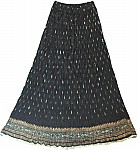 Crinkle Summer Long Skirt