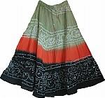 Tie Dye Dancing Skirt