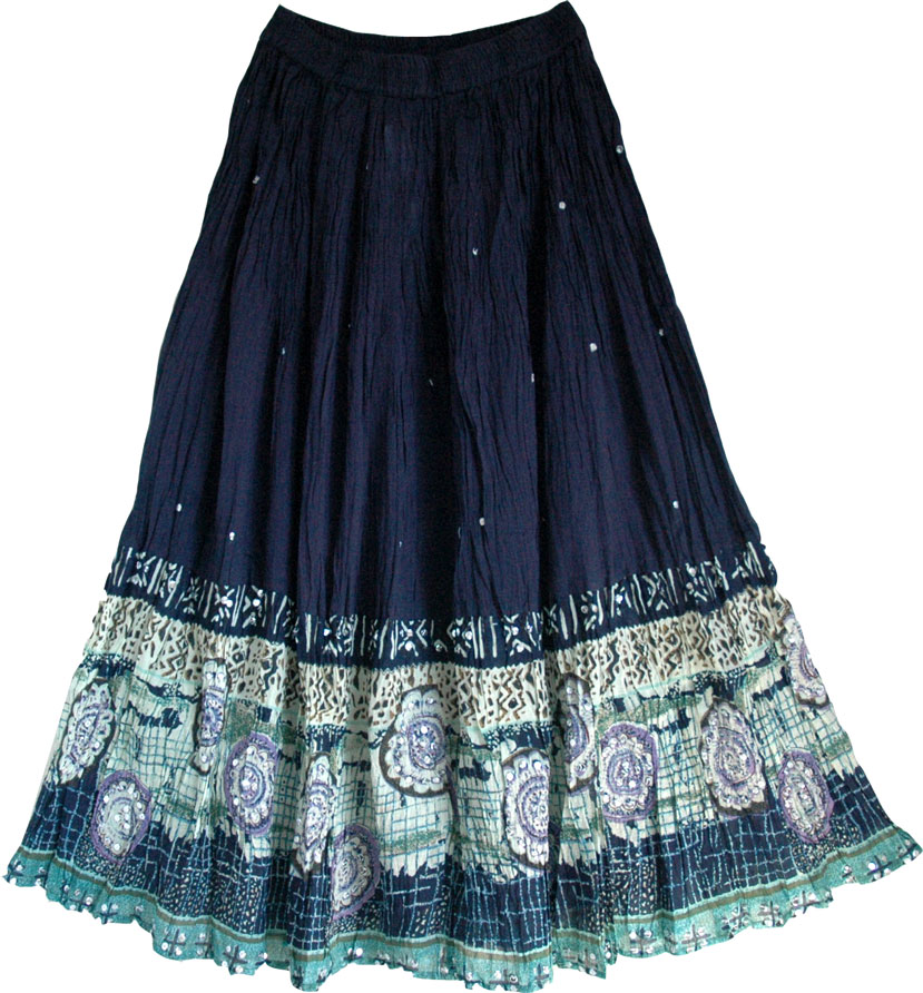 Long bohemian skirt awesome