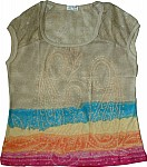 Gurkha Tie Dye Tee w/ Lace