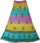 Fiesta Cotton Long Skirt