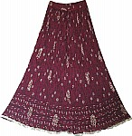 Finn Crinkle Summer Long Skirt