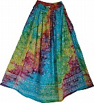 Fruity Harvest  Summer Long Skirt