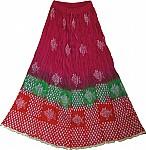 Fish Batik Print  Skirt